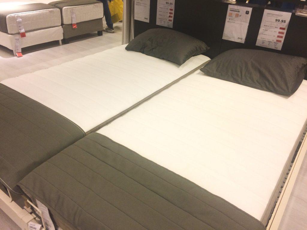 cama-dois-colchões