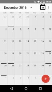 app calendário