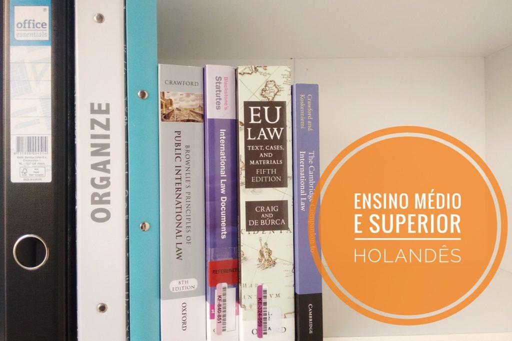 Ensino medio e superior holandês